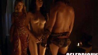 Spartacus Nude and Sex Scenes Compilation